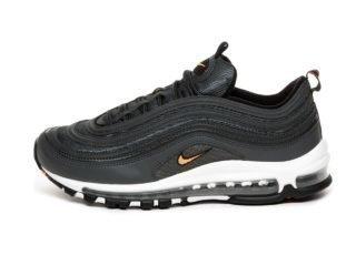 Nike Air Max 97 (Anthracite / Total Orange - Black - White)