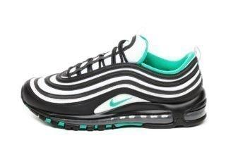 Nike Air Max 97 (Black / Clear Emerald - White)