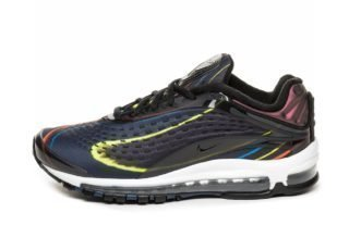 Nike Air Max Deluxe (Black / Black - Midnight Navy - Reflect Silver)