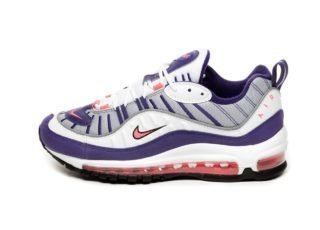Nike Wmns Air Max 98 (White / Racer Pink - Reflect Silver - Black)