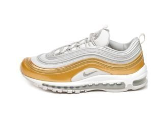 Nike Wmns Air Max 97 SE (Vast Grey / Metallic Silver - Metallic Gold)