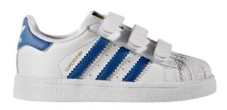 Adidas Superstar Kids BZ0421 Wit Blauw Adidas Superstar Kids BZ0421 Wit Blauw