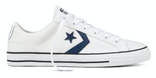 Converse Star Player 160558C Wit Blauw Converse Star Player 160558C Wit Blauw