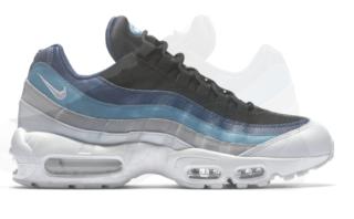 Nike Air Max 95 Essential 749766 026 Blauw Grijs
