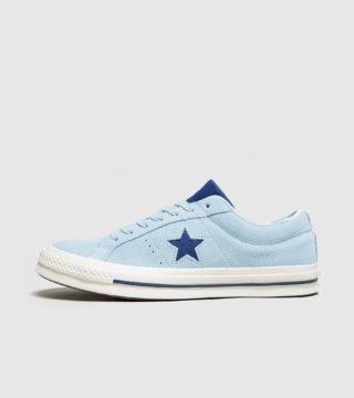 Converse One Star 74 (blauw/blauw)
