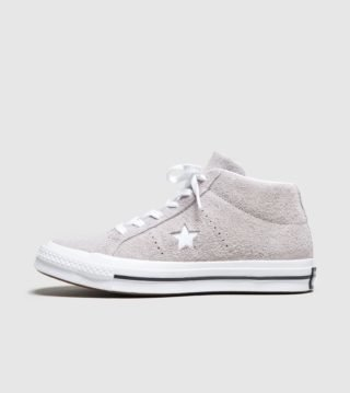 Converse One Star Mid Dames (grijs)