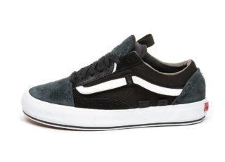 Vans Vault Old Skool Cap LX *Regrind* (Black / True White)