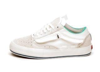 Vans Vault Old Skool Cap LX *Regrind* (Marshmallow / Blanc De Blanc)