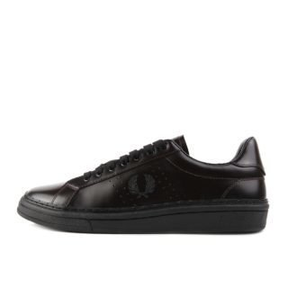 Fred Perry B721 High Shine Leather Ox Blood EUR 45
