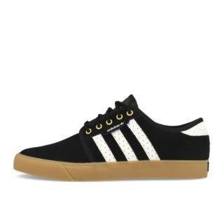adidas Seeley Black White Gold EUR 42
