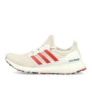 adidas Ultra Boost 4.0 White Active Red Chalk White EUR 42