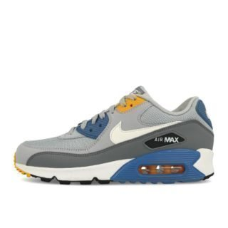Nike Air Max 90 Essential Wolf Grey White Indigo Storm