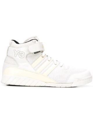 Y-3 touch strap high-tops (wit)