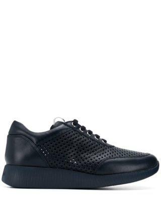 Baldinini punch-hole low sneakers (blauw)