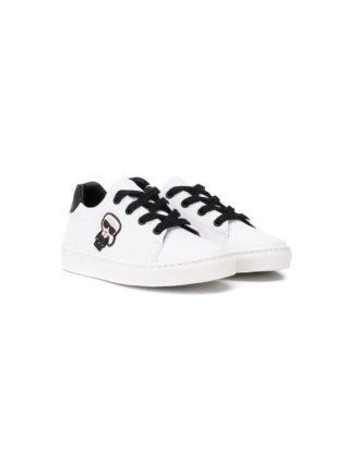 Karl Lagerfeld Kids Karlito sneakers (wit)