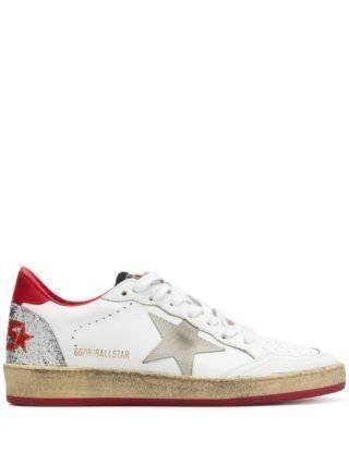Golden Goose Deluxe Brand Ballstar distressed sneakers - Wit
