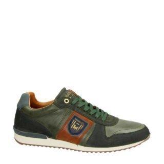 Pantofola d'Oro leren sneakers kaki (groen)