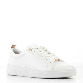 Ted Baker leren sneakers Gielli wit (wit)