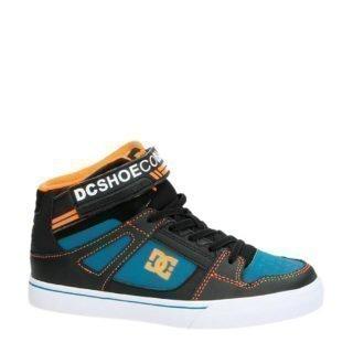 DC hoge sneaker zwart multi (zwart)