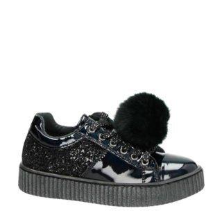 Kipling imitatieleren sneakers zwart (zwart)