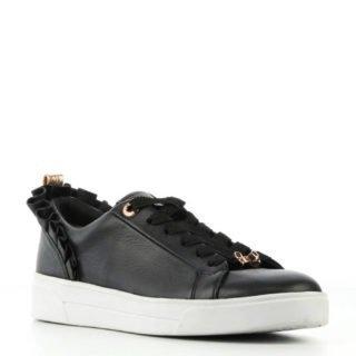 Ted Baker leren sneakers zwart (zwart)