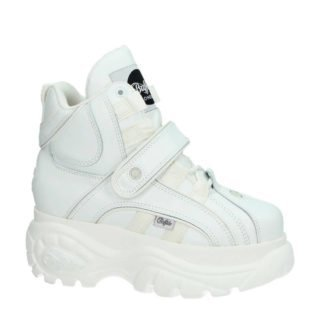 Buffalo leren Chunky Dad sneakers wit (wit)