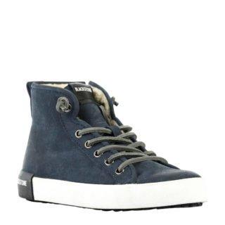 Blackstone leren sneakers blauw (blauw)