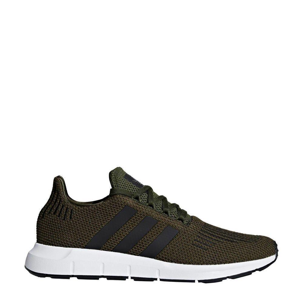 25faf559cdb adidas originals Swift Run sneakers olijfgroen (groen ...