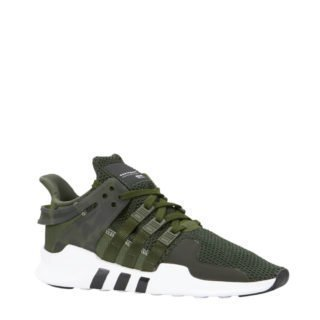 the latest 69985 e7f05 adidas originals EQT Support ADV sneakers donkergroen (groen)