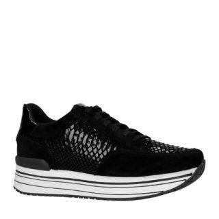 PS Poelman suède sneakers zwart (zwart)