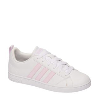 adidas originals VS Advantage sneakers wit/roze (wit)