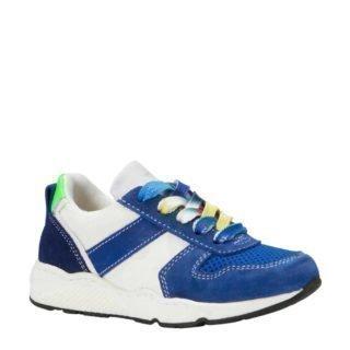 Kanjers sneakers met suède (blauw)