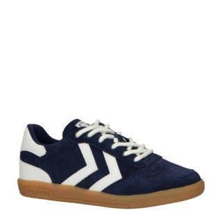 hummel Victory Suede jr sneakers donkerblauw (blauw)