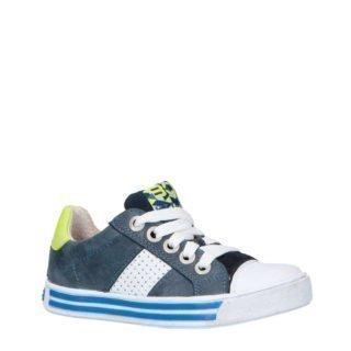 Braqeez leren sneakers blauw (blauw)