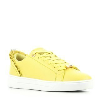 Ted Baker leren sneakers geel (geel)