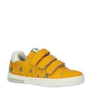Bunnies leren sneakers okergeel (geel)