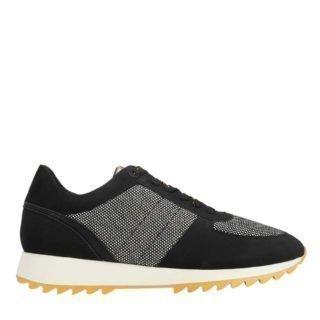 Parfois Tweed sneakers zwart/grijs (zwart)