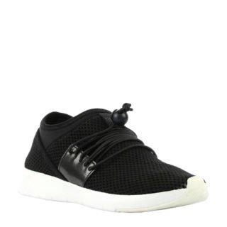 FitFlop TM Airmesh sneakers zwart (zwart)