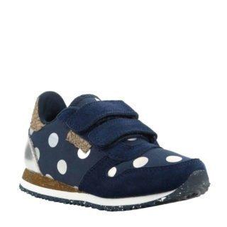 Woden Wonder Nora Dot Junior sneakers donkerblauw (blauw)