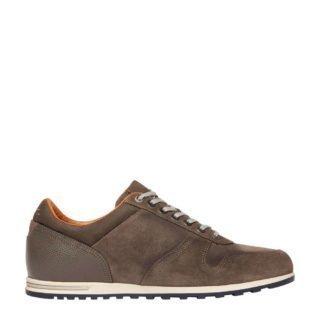 Van Lier suède sneakers grijs/bruin (grijs)