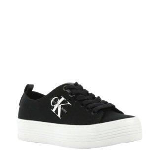 Calvin Klein Jeans Zolah plateau sneakers zwart (zwart)