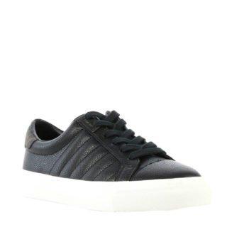 Calvin Klein Vance leren sneakers zwart (zwart)