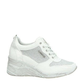 Mustang wedge sneakers wit (wit)