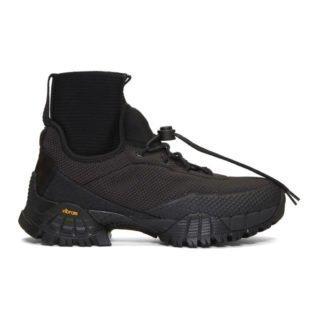 ROA Black Daiquiri Hi Sneakers