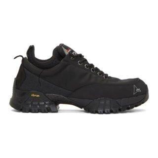 ROA Black Neal Low Sneakers