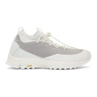 ROA Off-White Daiquiri Mid Sneakers