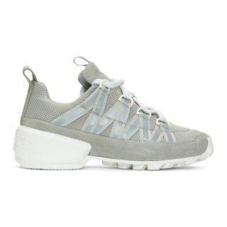 Pierre Hardy Grey Trail Sneakers