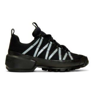 Pierre Hardy Black Trail Sneakers