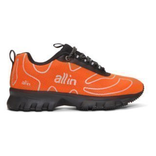 all in SSENSE Exclusive Orange Tennis Sneakers