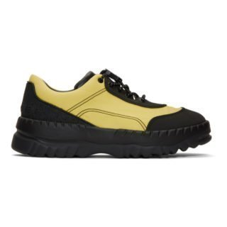 Kiko Kostadinov Black and Yellow Camper Edition Teix Sneakers